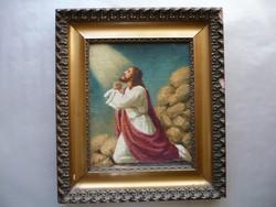 Mesterházy D. szignóval ellátott festmény