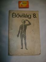 Élővilág könyv nyolcadik osztály - 1966 - retro tankönyv