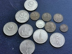 Szovjet érmék egybe 14 db.