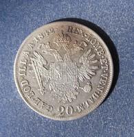 20 kreuzer 1842 A