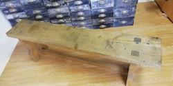 Pad, ipari pad, öltöző pad, tömör fa ipari stílusú pad, loft