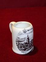 ROYAL KPM Bavaria német porcelán mini korsó. Magassága 5 cm.