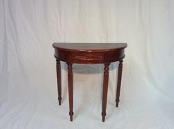 Rózsafa konzol asztal