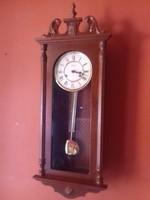Gyönyörű mechanikus kulcsos ingaóra falióra óra