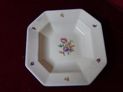 Gránit magyar porcelán antik köretes tál, múzeumi darab. 536 jelzéssel.