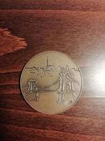 Atlétikai Európa bajnokság, Budapest 1998, emlékérme, plakett