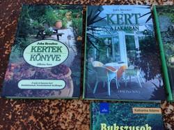 4 db kertes könyv