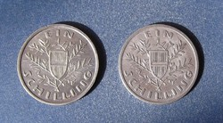 1 schilling 1925-26