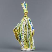 Herendi Siang Jaune mintás női karneváli figura, limitált kiadású mesterdarab #MC0316
