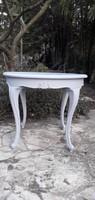 Provence barokk szalon asztal
