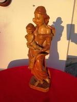 Mária fa szobor