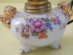 Porcelán talpas elektromos kis petróleumlámpa
