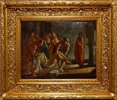 Molnár C. Pál: Krisztus levétele a keresztről