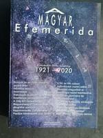 Magyar efemeridák 1921 - 2020 asztorógiai könyv