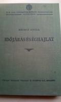 Hibátlan állapotú Időjárás éghajlat c. könyv 1921-ből