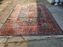 Kashan kézi csomózású Iráni szőnyeg 369x266 cm