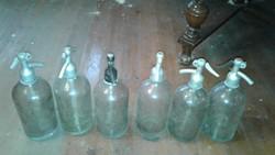 Régi szódás üvegek