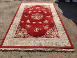 Kínai kézi csomózású szőnyeg 302 x 198 cm
