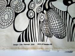 Cilla Ramnek design bútorszövet, Ikea 2008