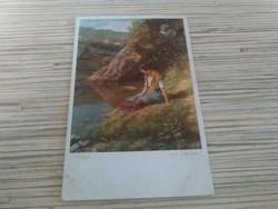 Antik képeslap (1913)