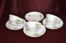 Herendi hecsedli, csipkebogyó mintás teás csészék és aljak pótlásra  ( DBZ 001 )