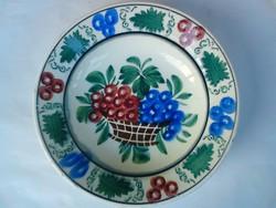 Bélapátfalvi régi szőlős tányér