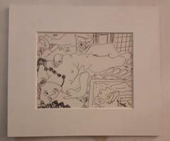 Henri Matisse: Tükör előtt fekvő akt