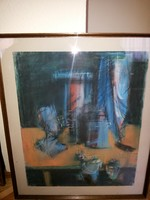 Baráth Pál pasztel festménye