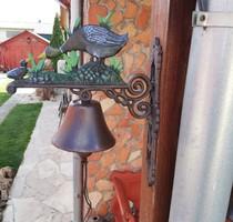 Öntöttvas  kacsás madaras állatos csengő kolomp harang, Gyűjtői szépség
