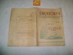 Énekkönyv az általános iskolák II. osztálya számára - 1954