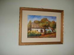 Régi tanyai ház