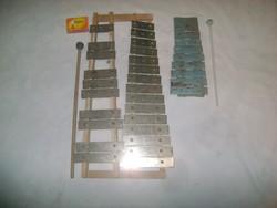 Régi és retro játék xilofon - két darab