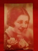 Antik fotó képeslap Portré  a  képek szerint