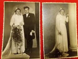 Antik házassági fotó képeslapok a képek szerint