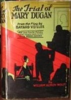 William Almon Wolff: The Trial of Mary Dugan_ritkaság!
