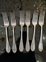 Ezüst  6 személyes  kés+villa evőeszköz készlet Diána