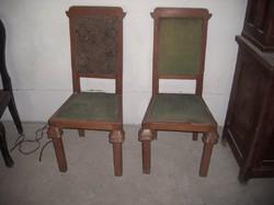 Art Deco székek párban