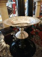 ART DECO ezüst asztalközép kézzel cizellált . Ritka!