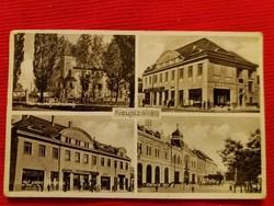 Antik fotó képeslap Kisújszállás a képek szerint