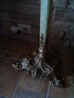 Gyönyörű réz állólámpa , lámpaernyő nélkül ..