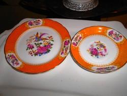 Angol porcelán  tányér 2 db együtt