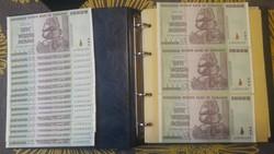 Zimbabwe dollar 50 trillion dollar Zimbabwe 100 trillion gold dollar