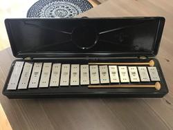 Régi Orosz bakelit xilofon, újszerű