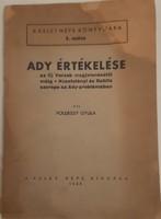Földessy Gyula: Ady értékelése