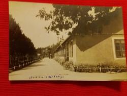 Antik fotó képeslap Parancsnokság a képek szerint