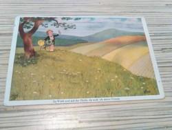 Régi motívum képeslap. 1930.