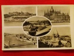 Antik fotó képeslap Budapest a  képek szerint