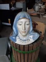 Porcelánbol készült   Szűz Mária