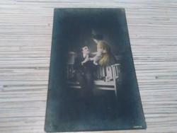 Antik képeslap 1917.