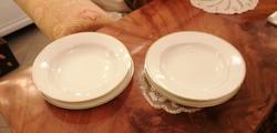 4 db lapos és mély Schlaggenwald tányér 2 főre